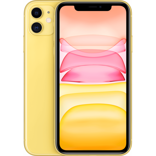 APPLE iPhone 11 – 64 Go – MWLW2ZD/A – Jaune