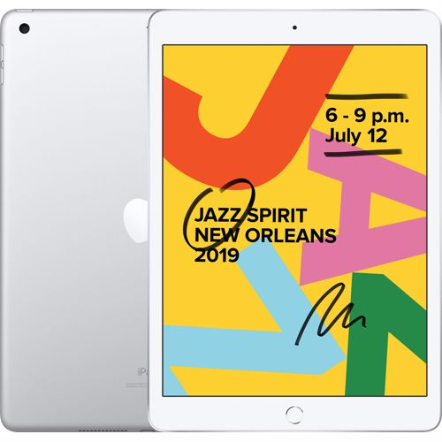 Apple iPad 2019 128GB Wifi (Zilver)