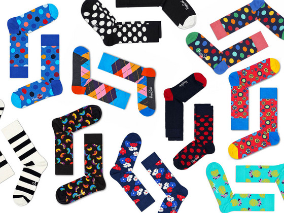 6 Paar Happy Socks in Mystery Pack