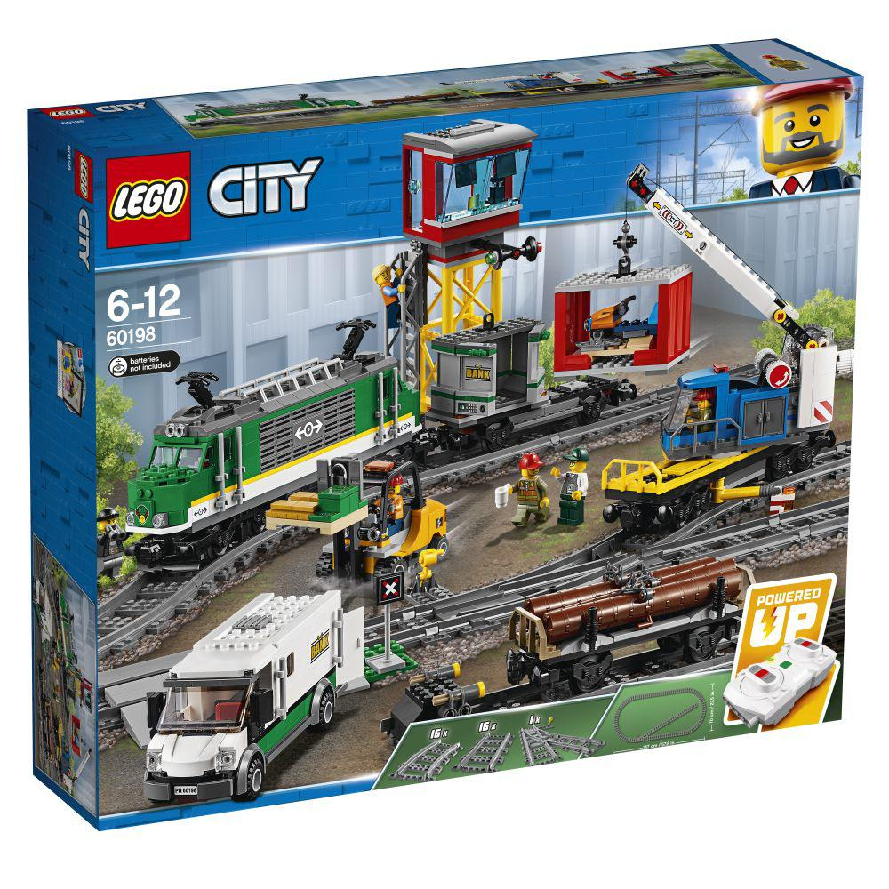 LEGO City Vrachttrein – 60198