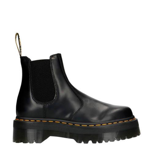 Dr. Martens Quad leren chelsea boots zwart