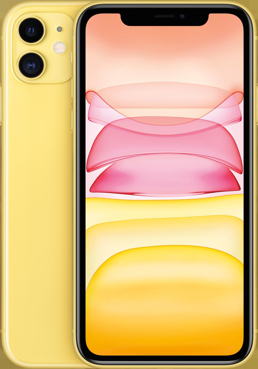 APPLE iPhone 11 – 64 GB Geel