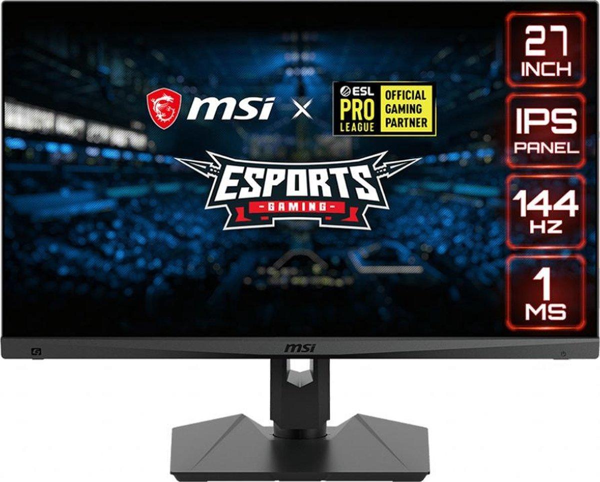 MSI Optix MAG274R – Full HD USB-C IPS Gaming Monitor – 27 inch (144hz)