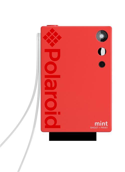 Polaroid Instant Camera Munt Rood