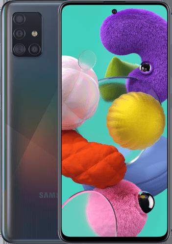 SAMSUNG Galaxy A51 – 128 GB Dual-sim Zwart