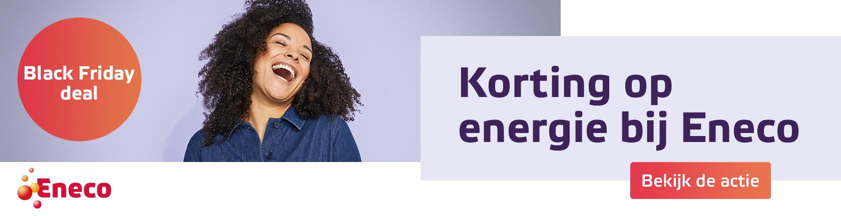 Eneco Black Friday deal Koritng op energie bij Eneco bekijk de actie
