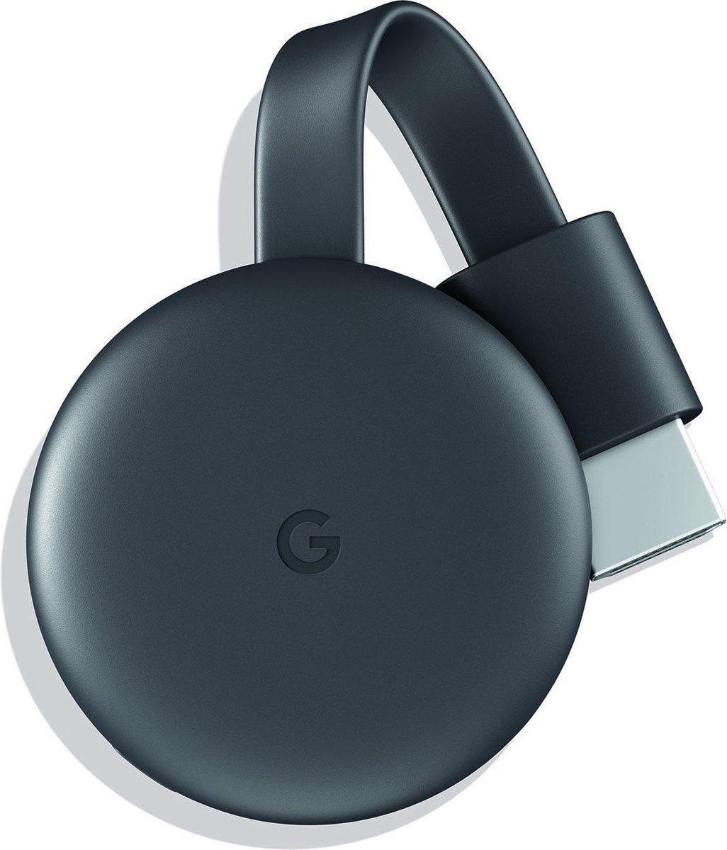 Google Chromecast 3 Smart – TV-dongle – Full HD / Zwart