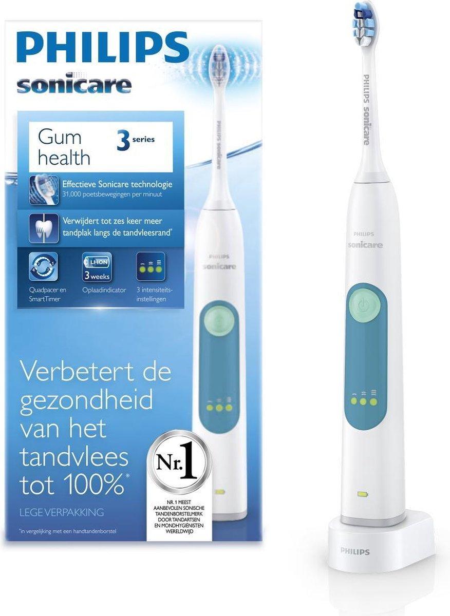 Philips 3 series HX6601/03 – Elektrische tandenborstel – Wit