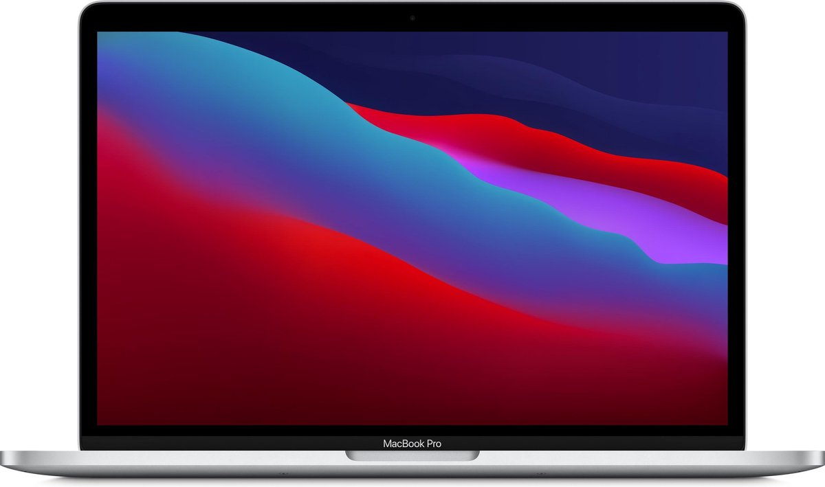 Apple MacBook Pro (November, 2020) MYDA2FN/A – 13.3 inch – Apple M1 – 256 GB – Zilver – Azerty