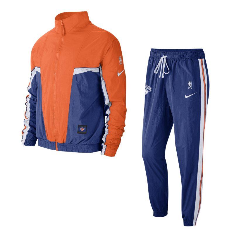 New York Knicks Nike NBA-trainingspak voor heren – Blauw