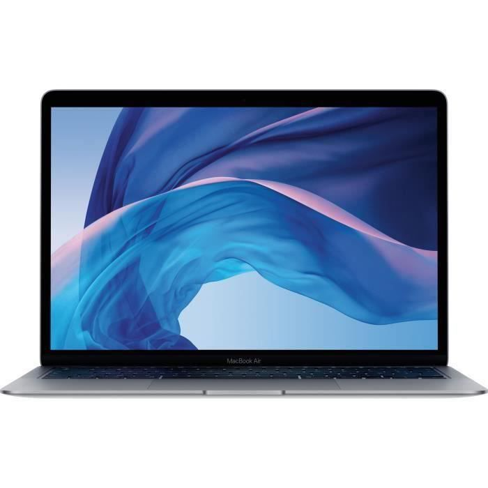 Apple – 13,3- MacBook Air (2020) – Intel Core i5 – RAM 8Go – Stockage 512Go – Gris Sidéral – AZERTY