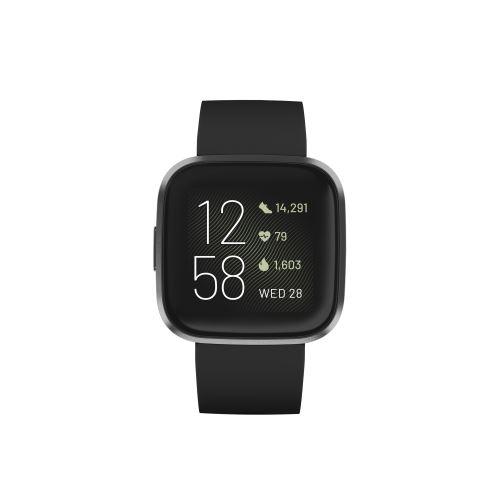 Montre connectée Fitbit Versa 2 Noir Carbone