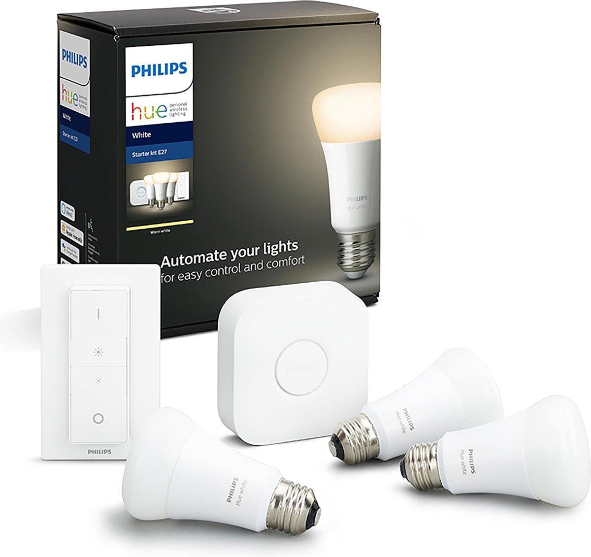 Philips Hue Starterspakket – White – E27 – Bluetooth