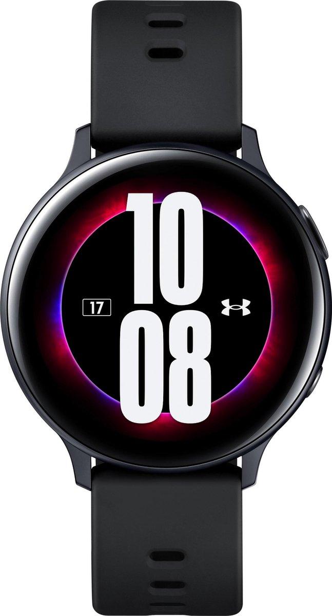 Samsung Galaxy Watch Active2 – Aluminium – 44mm – Zwart – Under Armour Special