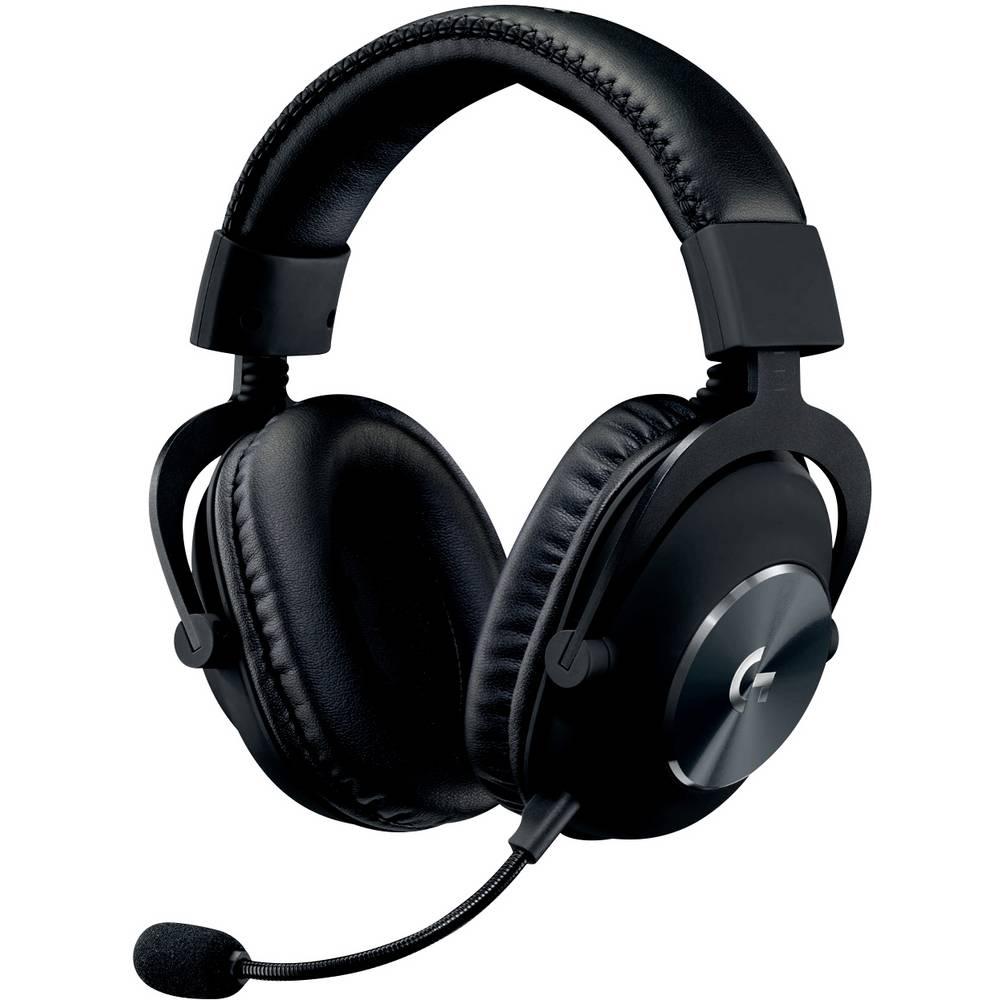Logitech Gaming G PRO Gaming headset USB Kabelgebonden, Stereo Over Ear Zwart