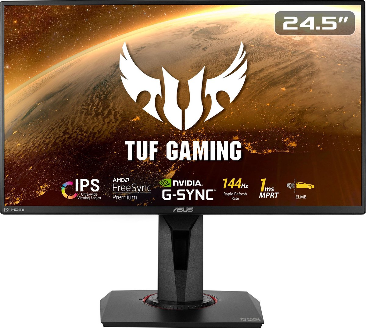 ASUS TUF VG259Q – Full HD IPS Gaming Monitor – 25 inch – 144hz