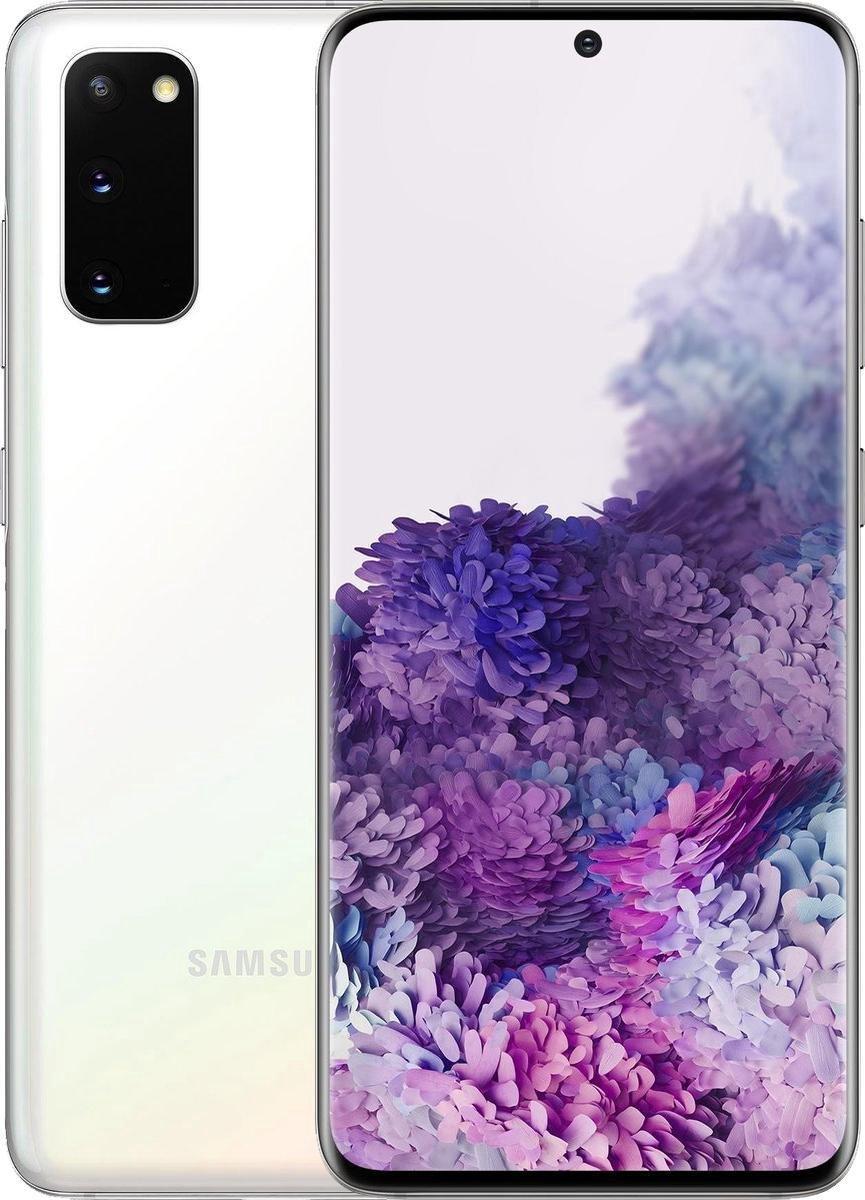 Samsung Galaxy S20 – 5G – 128GB – Wit