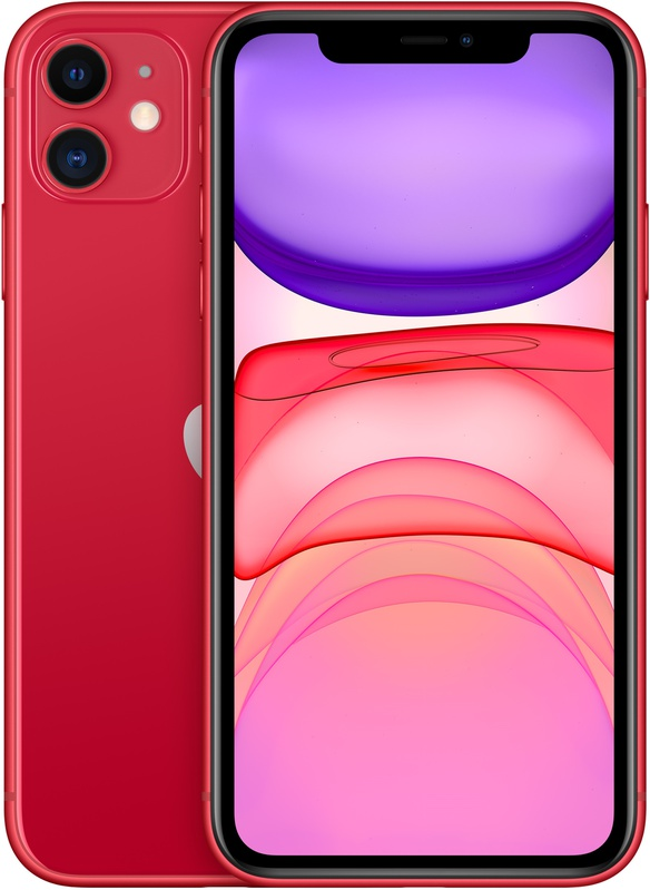 iPhone 11 64 GB Red – Smartphone – 64 GB – 6.1″ – 1792 x 828 pixels – iOS 13 – 12 MP