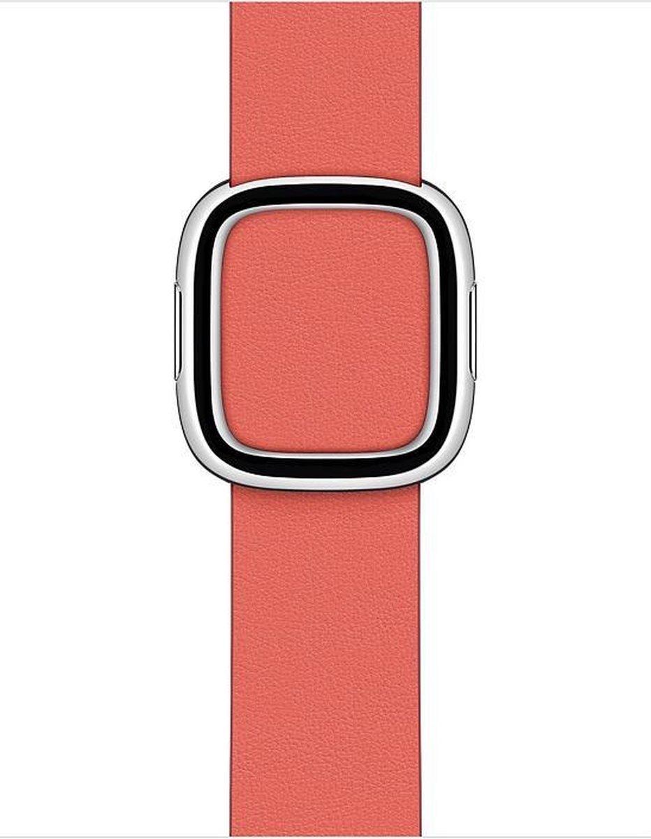 Apple Watch Modern Buckle – 40mm – Pink Citrus – Medium – voor Apple Watch SE/5/6