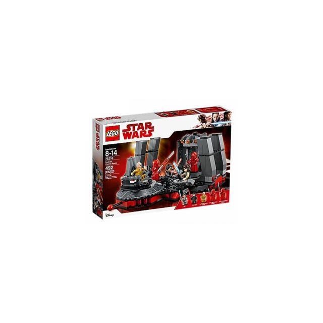 Lego Star Wars™ Salle du trône de Snoke 75216