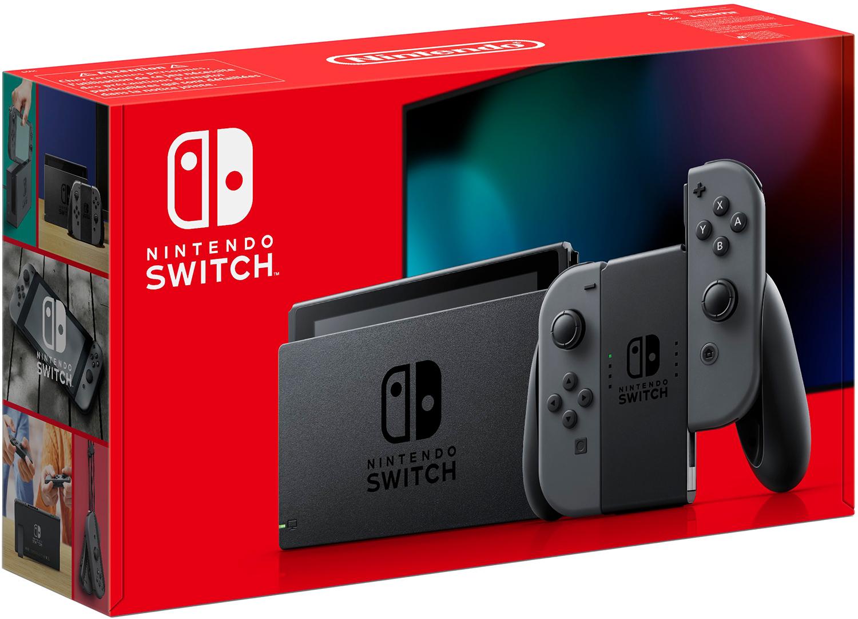 NINTENDO Switch Grijs (2019 revisie)