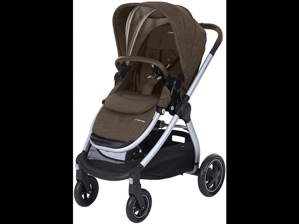 Maxi-Cosi Adorra Nomad Brown (Silver Frame) – Kinderwagen