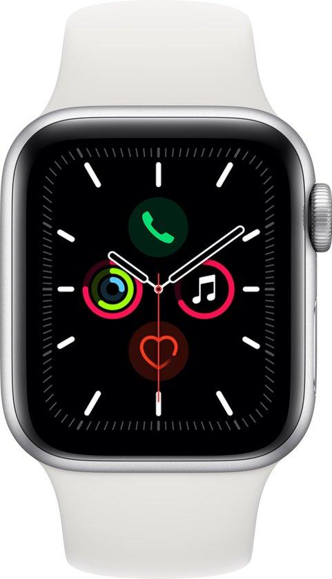 Apple Watch Series 5 – 44 mm – Wit