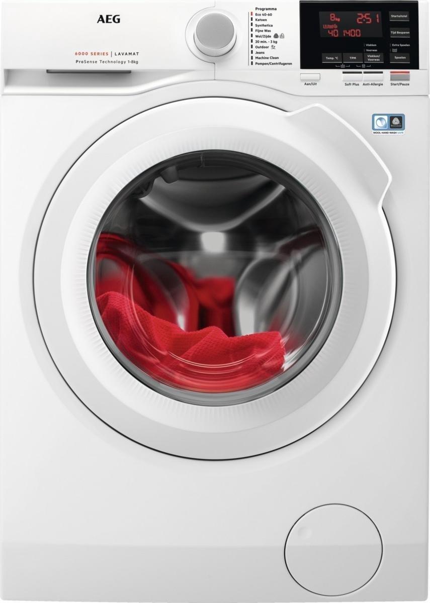 AEG L6FB84GW – 6000 serie – ProSense – Wasmachine