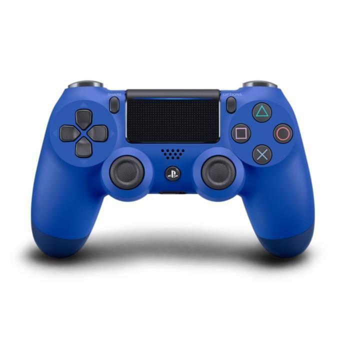 Manette DualShock Bleue PS4