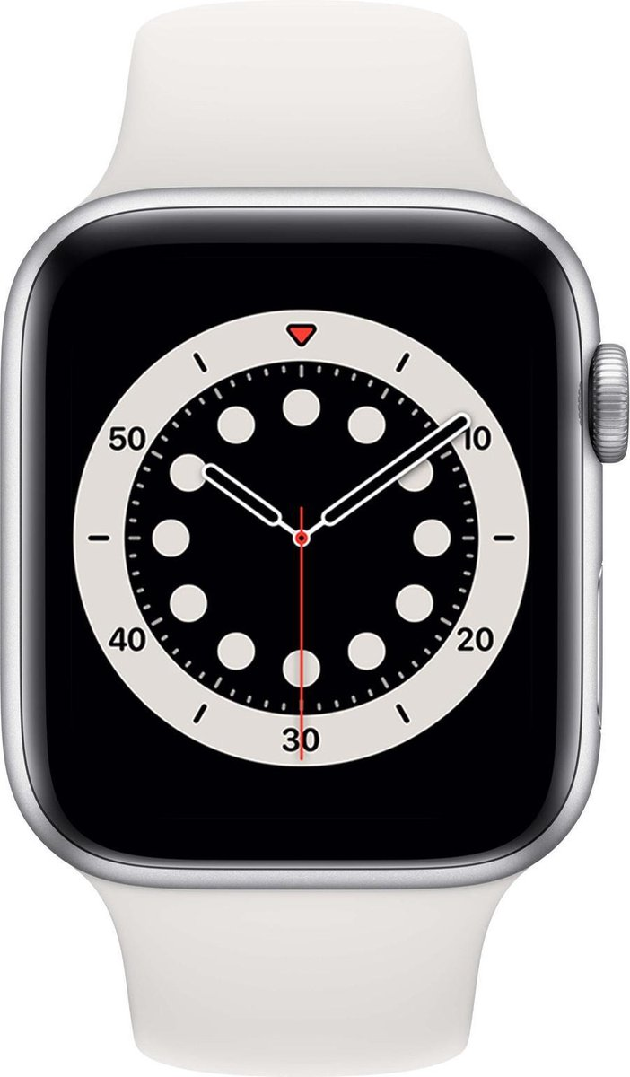 Apple Watch Series 6 – 44 mm – Zilver