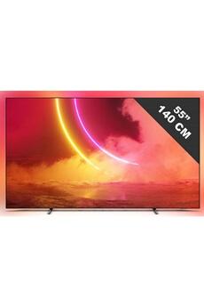 TV LED Philips Smart tv 55 pouces philips 4k uhd, 55 oled 805/12