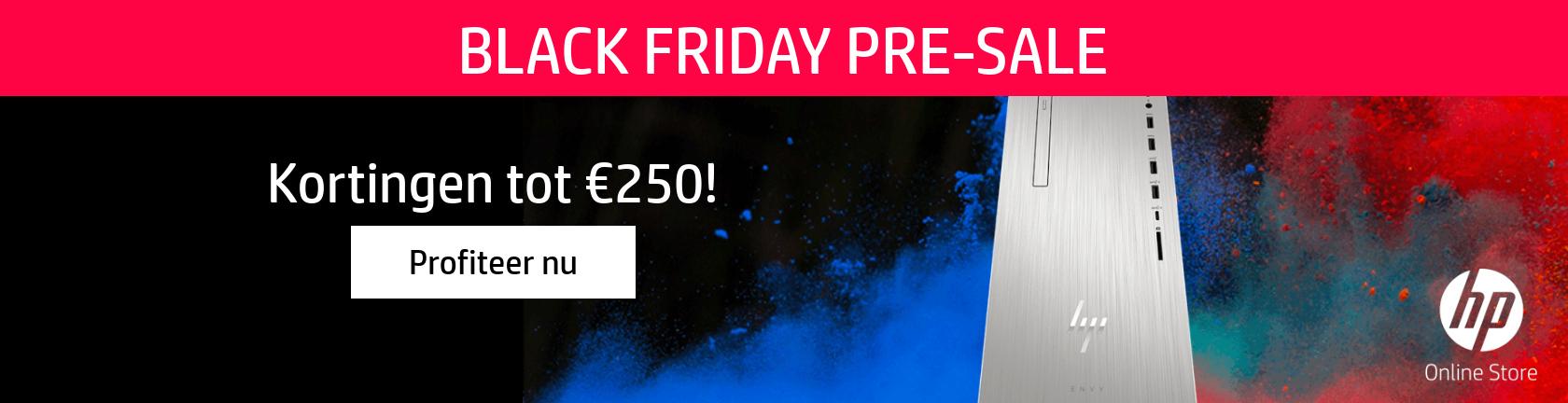 HP Black Friday Pre-SALE Kortingen tot €250! Profiteer nu