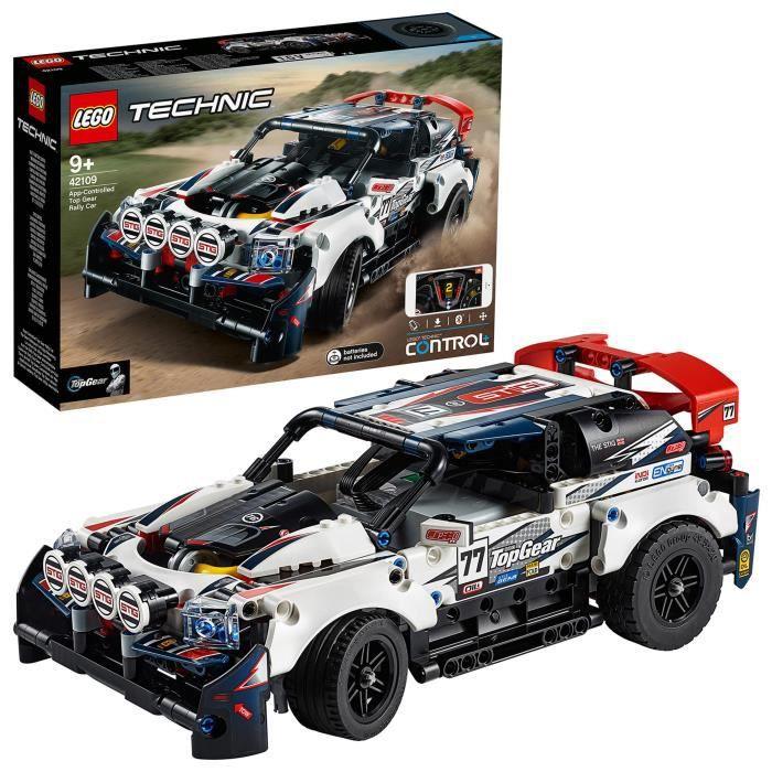 LEGO® Technic 42109 – La voiture de rallye contrôlée