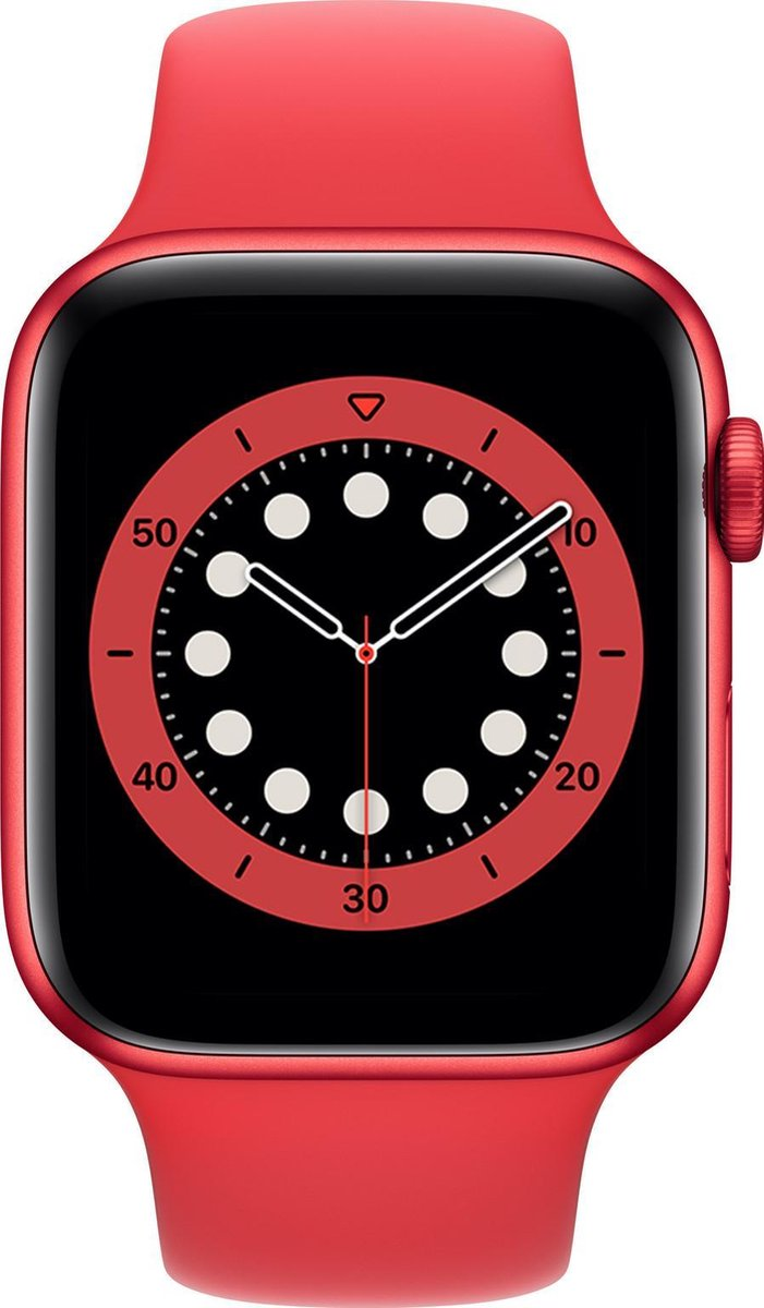 Apple Watch Series 6 – 44 mm – Rood