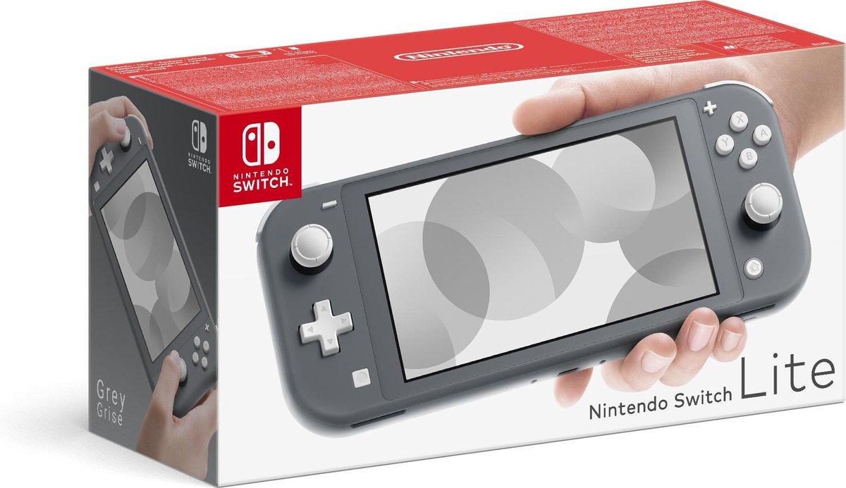 Nintendo Switch Lite Console – Grijs