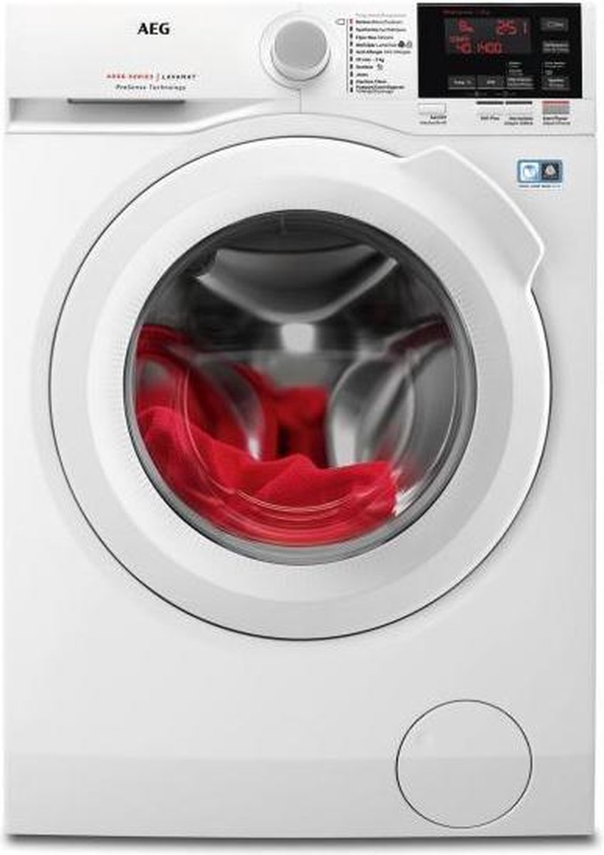 AEG L6FBG84W – 6000 serie – ProSense – Wasmachine