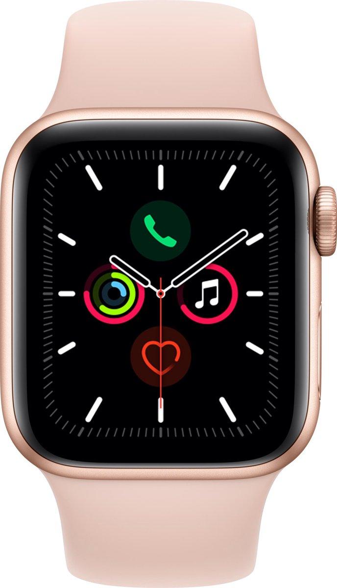 Apple Watch Series 5 – Smartwatch dames – 44 mm – Roze