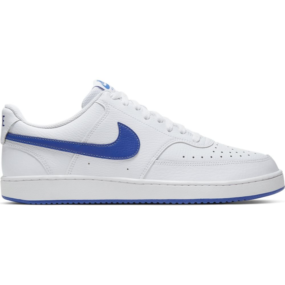 Nike Court Vision Low Sneaker Wit Blauw