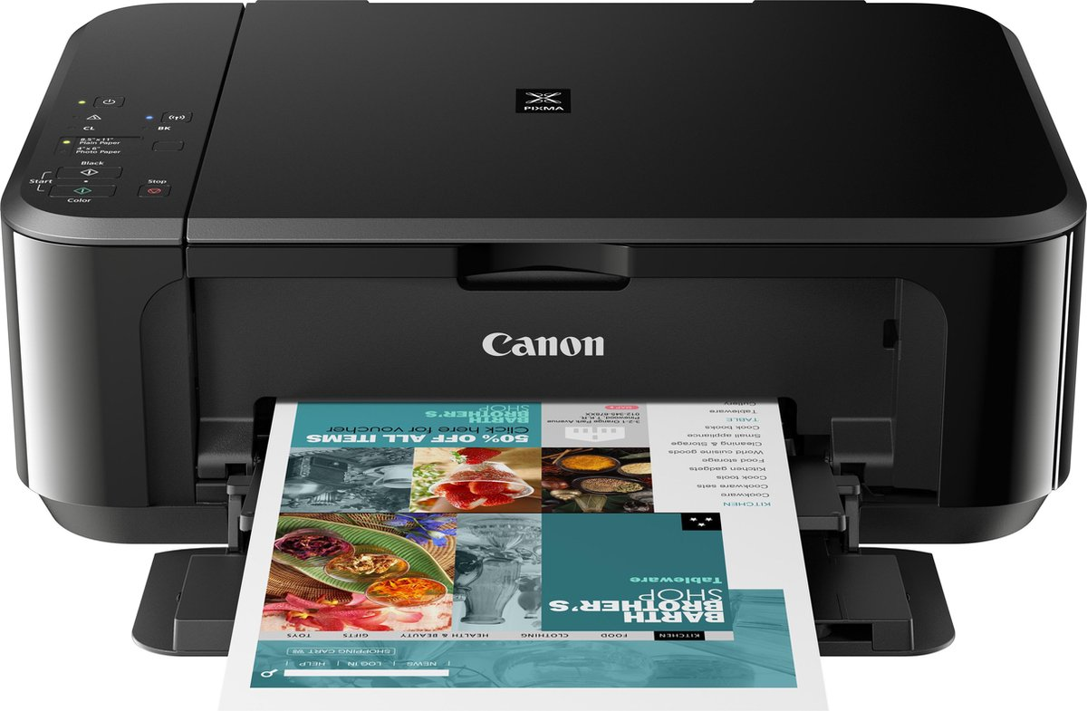 Canon PIXMA MG3650S – All-in-One Printer / Zwart