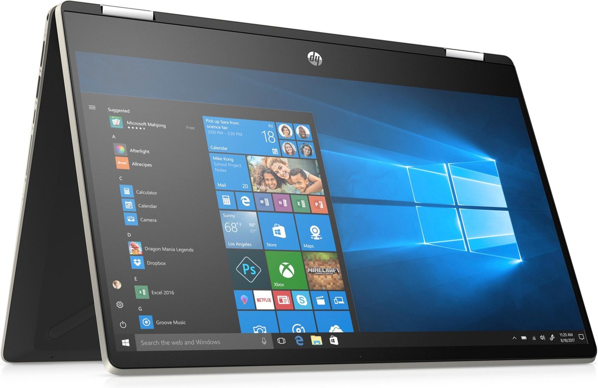 HP Pavilion x360 14-dh1001nb – 2-in-1 Laptop – 14 Inch – Azerty