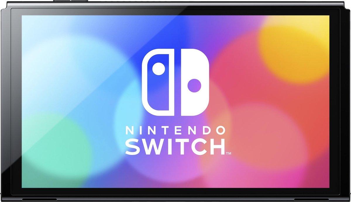 Nintendo Switch Console – OLED-model – Blauw / Rood