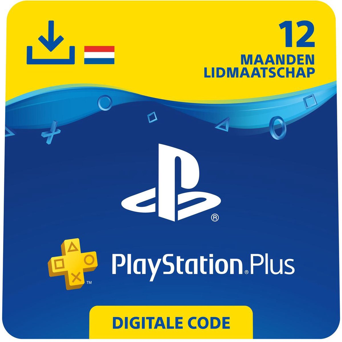 Sony Playstation Plus: 12 Maanden Lidmaatschap – PSN PlayStation Network – NL