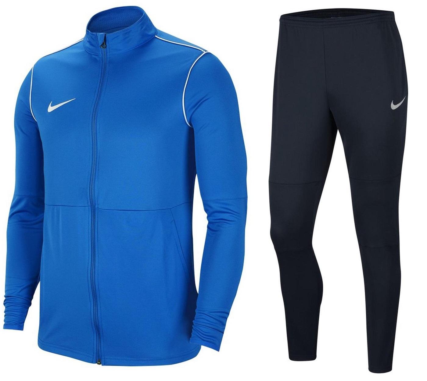 Nike Heren Sport set Basic Dry-Fit Tracksuit Blauw
