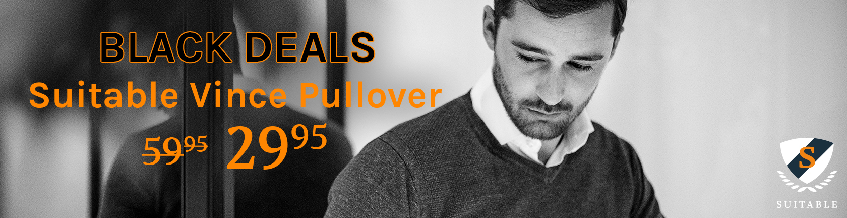 Black Friday deals bij Suitable Vince Pullover van 59,95 voor 29,95