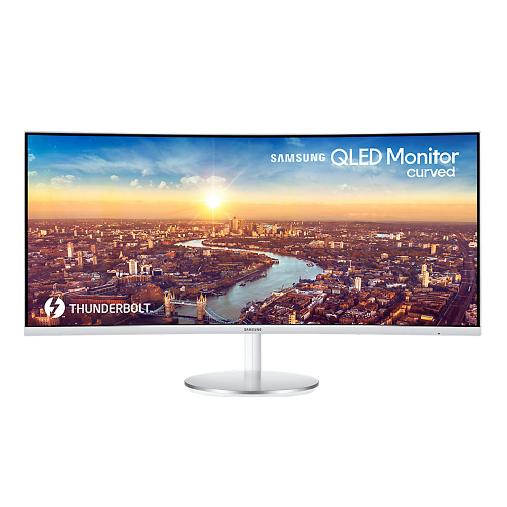 Samsung Curved 34 inch QLED monitor met Thunderbolt 3 (LC34J791WTU)