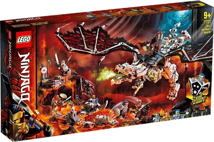 LEGO Ninjago – Skull Sorcerer's Draak 71721