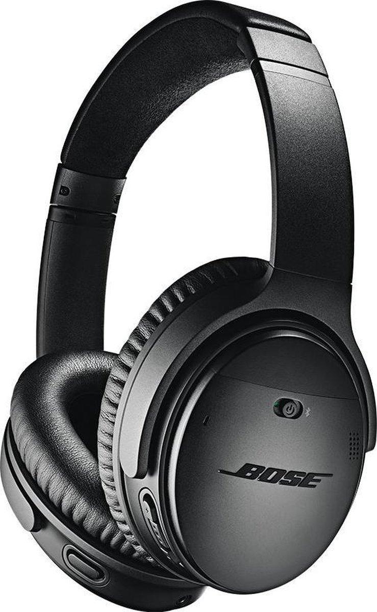 Bose QuietComfort 35 serie II – Draadloze over-ear koptelefoon met Noise Cancelling – Zwart