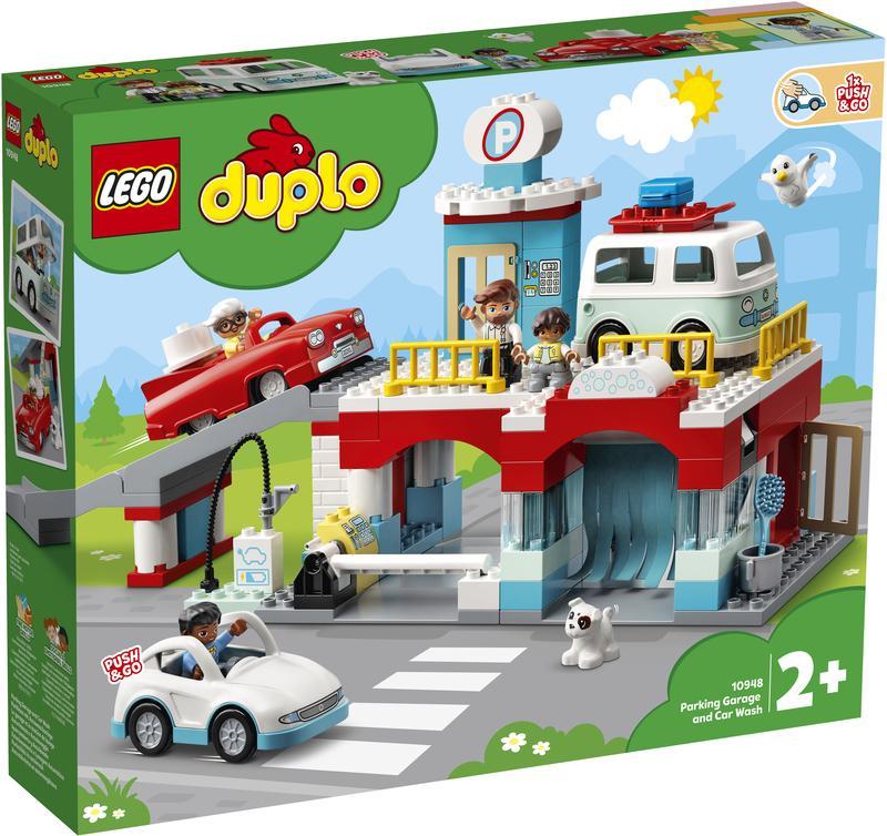 LEGO DUPLO Parkeergarage En Wasstraat (10948)