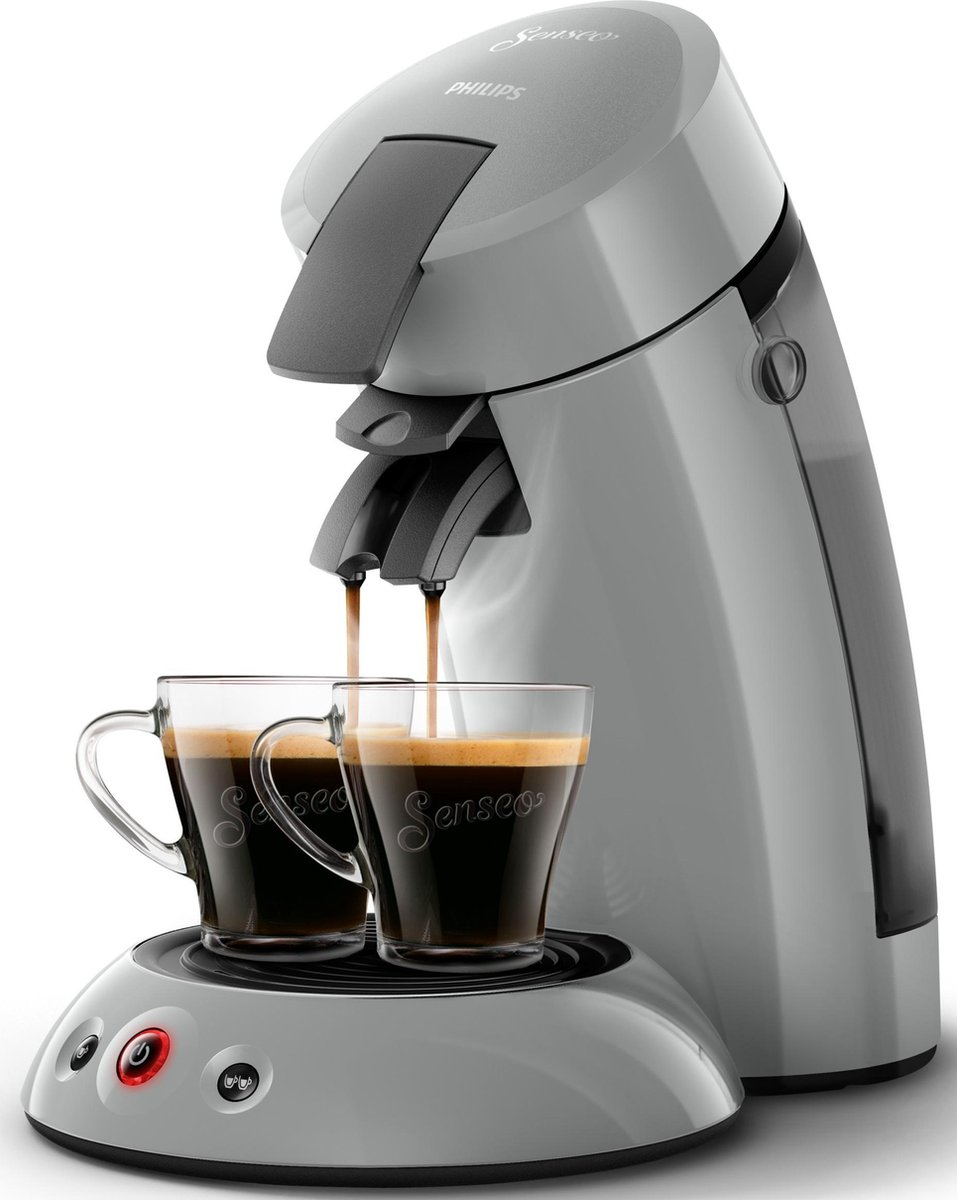 Philips Senseo Original HD6553/70 – Koffiepadapparaat – Zilvergrijs