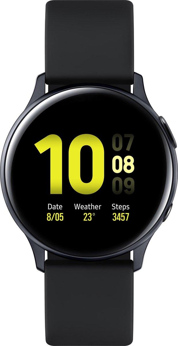 Samsung Galaxy Watch Active2 – Aluminium – Smartwatch – 40 mm – Zwart